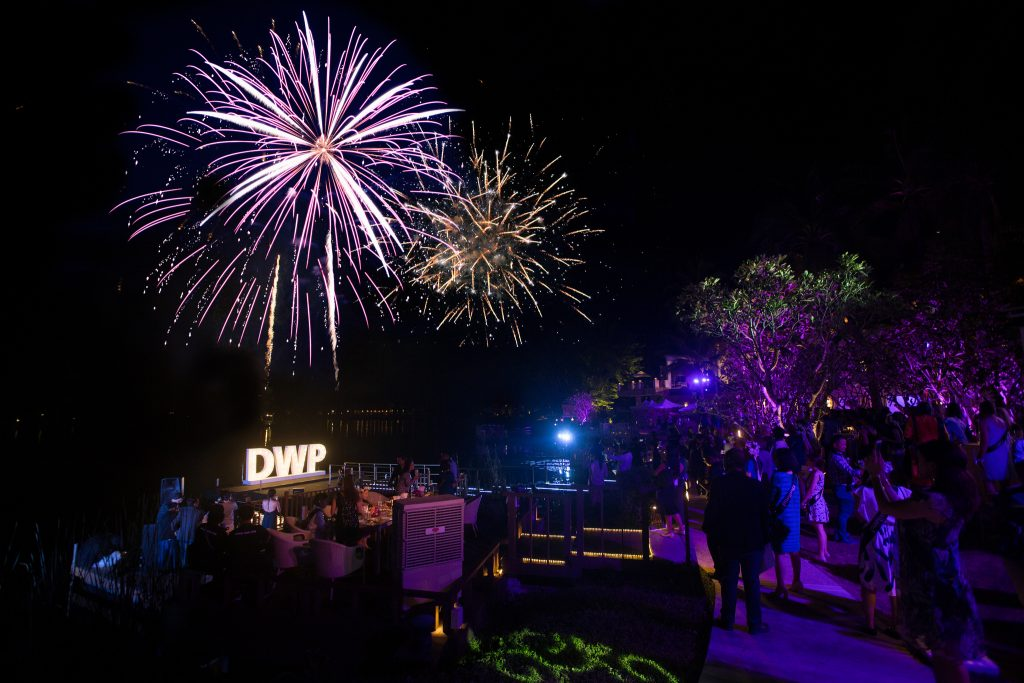 DWP Thailand First night party