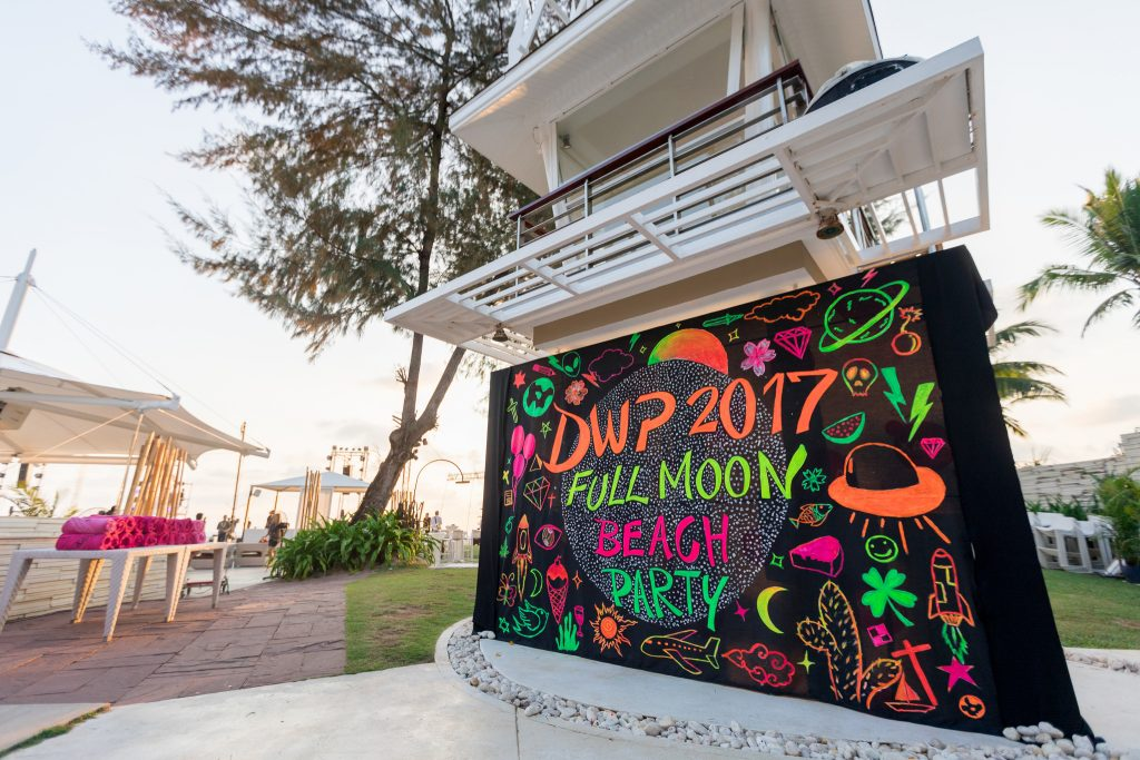 DWP Thailand Full Moon Party entrance