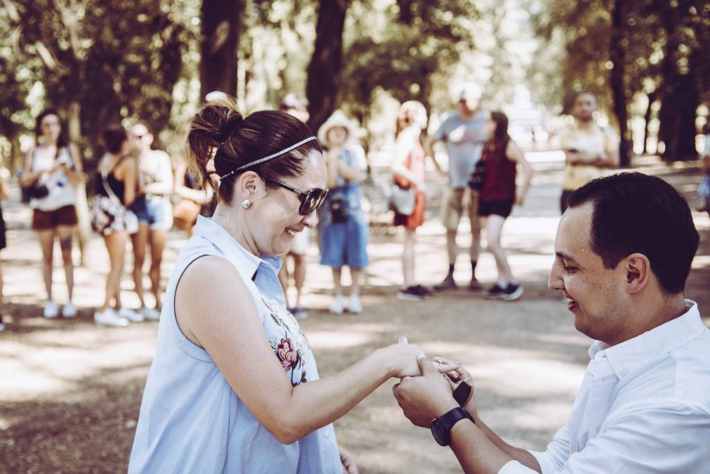 marriage proposal Rome