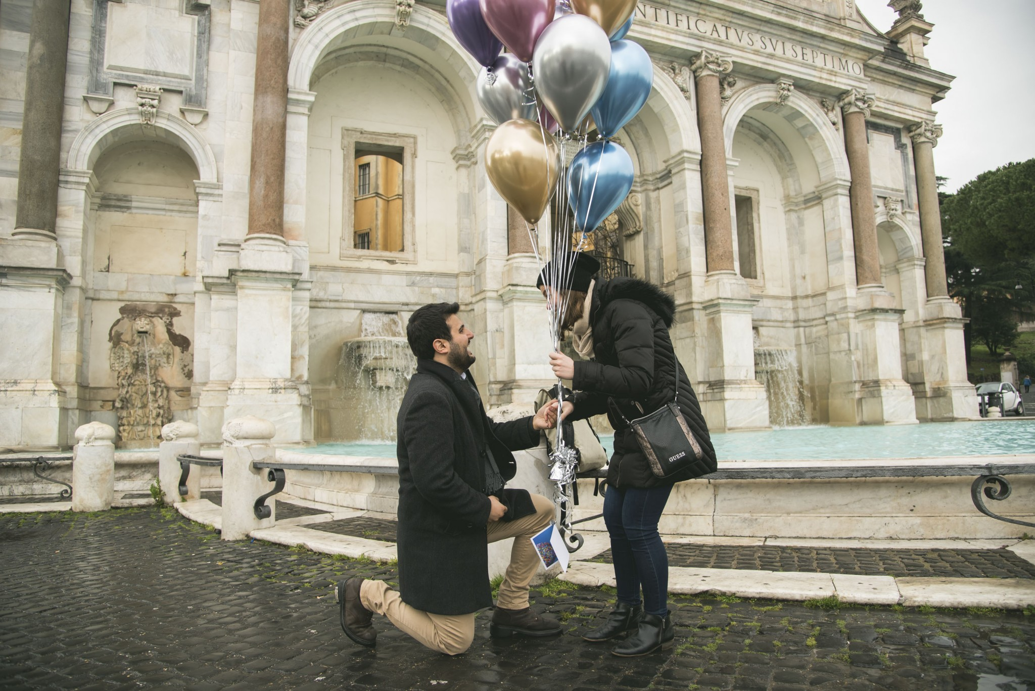 Marriage proposal Fontanone